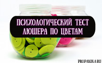 Психологический тест Люшера по цветам