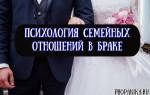 Психология семейных отношений между женщиной и мужчиной в браке