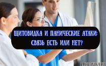 Щитовидка и панические атаки: связь есть или нет?