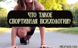 Что такое спортивная психология, когда и почему спортсмену нужен психолог?