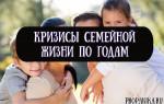 Кризисы семейной жизни по годам — психология отношений