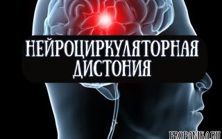 Нейроциркуляторная дистония по гипотоническому и гипертоническому типу