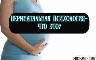 Что такое перинатальная психология, и в каких случаях нужна помощь психолога при беременности?