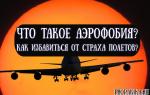 Что такое аэрофобия, и как побороть страх перед полетами?