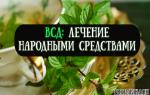 Лечение вегетососудистой дистонии народными методами